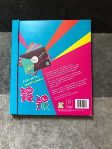 2012 London Olympic Sport Games 50p Coins Sealed Cards,Album,Completer Medallion