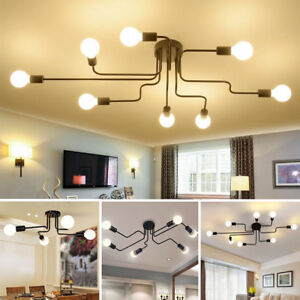 E27-Retro-Ceiling-Light-Modern-Vintage-Industrial-Metal-Pendant-Lamp-4-6-8-Way