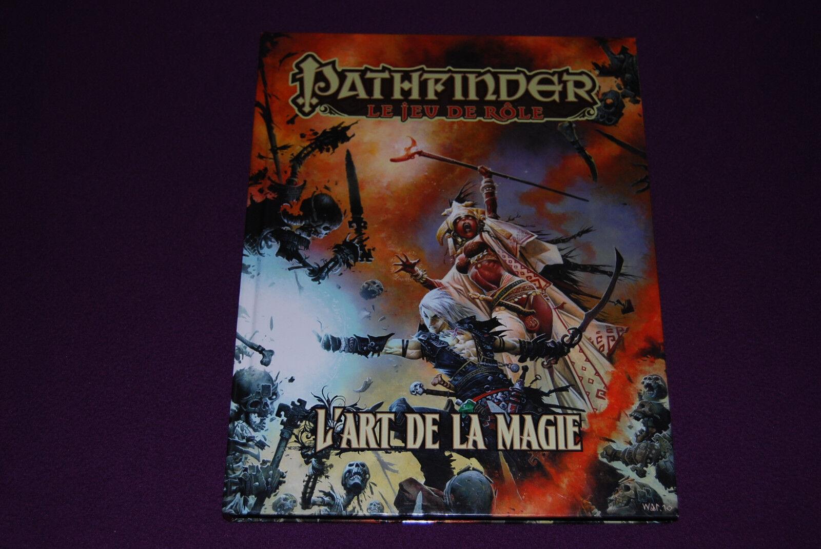 Pathfinder jdr jeu de rolle - l 'art de la magie