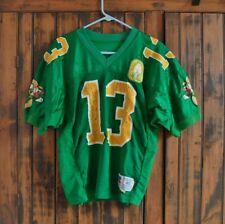 Game Used FOOTBALL JERSEY: 1995 Oregon Ducks MICHAEL FLETCHER + 100 Yr. Patch!!