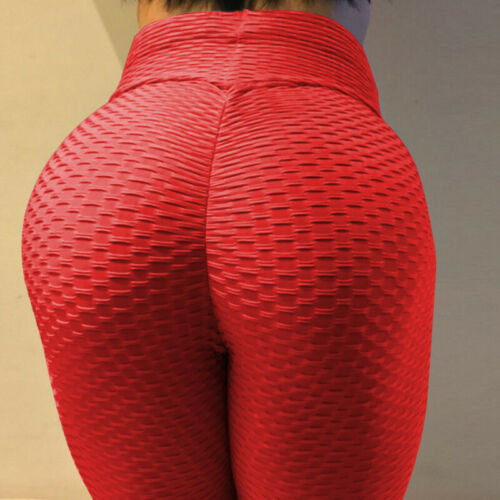 Workout Push Up Trousers Women/'s Fashion High Waist Fitness Solid Pants Leggings