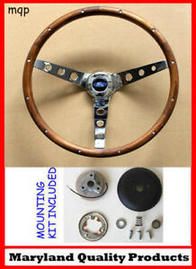 Details about 84-90 Ford TBird Escort Crown Vic EXP Grant Wood Steering  Wheel 15