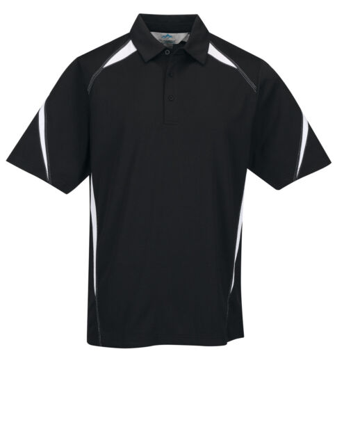 MEN'S EASY CARE, MOISTURE WICKING, SPORT POLO SHIRT, S M L XL 2X 3X 4X 5X 6X