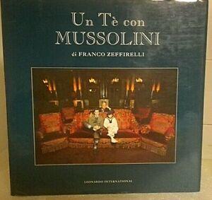 Libro fotografico film Un tè con Mussolini - Zeffirelli