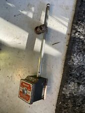 Vintage Starrett 657 Magnetic Base With Indicator Holder Preowned