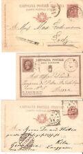 Lot Ganzsachen Italien vor 1935