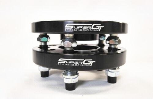SUPER GT Hubcentric Wheel Distanziatori 20mm /& 25mm HONDA CIVIC EP3 FN2 ANTERIORI E POSTERIORI