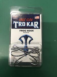Lazer TroKar Frog Hook 3 pack Bass Fishing Hollow Body Frog Hook