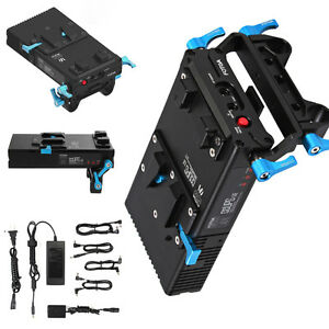 FOTGA-DP500-III-V-Mount-Lock-Battery-Power-Supply-Plate-f-15mm-Rod-A7-A7R-A7S-II