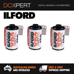 ILFORD-XP2-SUPER-3-PACK-24-EXPOSURES-35mm-BLACK-amp-WHITE-NEGATIVE-FILM