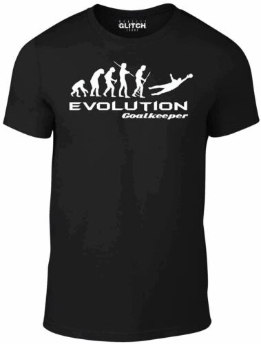 Evolution of Goalkeeper Kids T-Shirt Funny childrens t shirt football goal boy