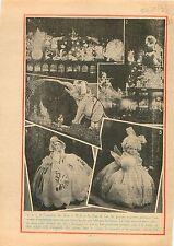 Fêtes de Noël  Jour de l'An Poupées Robe d'Organdi Vitrines Grands Magasins 1933