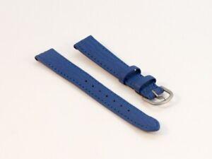 Lederarmband-Uhrenarmband-Lederband-Haifisch-NIVREL-blau-14-mm