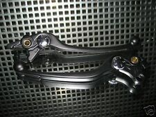 Paar LENKERHEBEL BREMSHEBEL KUPPLUNGSHEBEL schwarz Suzuki GSF650 Bandit K7 K8 K9
