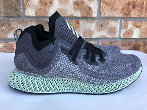 Men s Adidas AlphaEdge FutureCraft 4D ASW LTD Core Black Grey Aero ... 00deb01ef