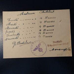 Lettre Felpost Cover Dienststelle Feldpostnummer 18617 MatéRiaux De Qualité SupéRieure