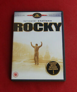 Rocky-Special-Edition-Region-2-DVD-Sylvester-Stallone-Carl-Weathers