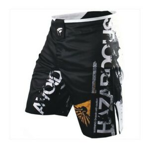 Boxing Trunks Professional Vintage Cottons Fight Shorts Breathable Mma Grappling