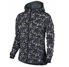 NIKE Shield Impossibly Light Running Jacket 808646 010 Black Hood NEW SMALL~$110