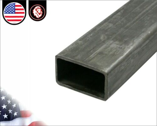 "Mild Steel 1/"" x 1-1//2/"" 4-ft 48/"" inches long Rectangular Tube 11 gauge"