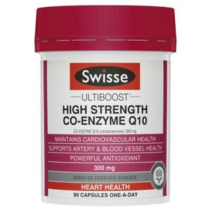 Swisse Ultiboost High Strength Co-Enzyme Q10 300mg 90 Capsules 1 pack