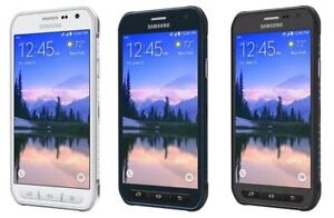 Samsung-Galaxy-S6-Active-SM-G890A-AT-amp-T-GSM-UNLOCKED-LTE-32GB-Gray-White-Blue
