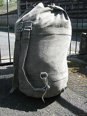 German Army Sea Sack Top Closure Seasack Military Surplus Bag Backpack Tough