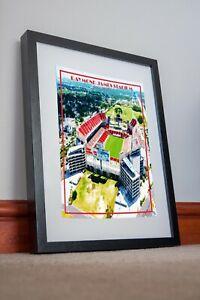 Super Bowl Imprimé Poster Cadeau Tampa Bay flibustiers Arena Raymond James Stadium