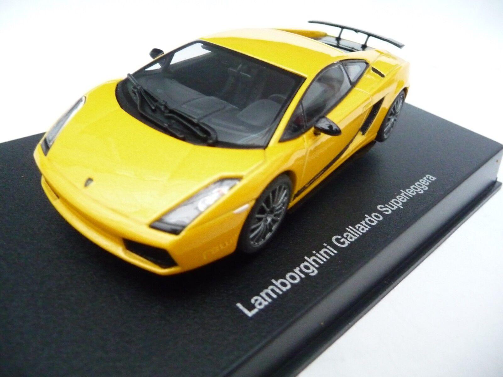 AUTOart 1 43 Lamborghini Gallardo Superleggera Metallic Yellow AA54614