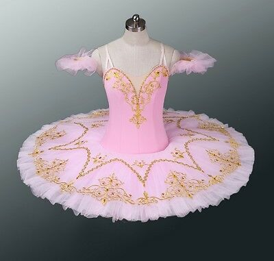 Classical Professional Ballet Tutu Pink Gold All Sizes AVAILABLE IMMEDIATELY!!!!