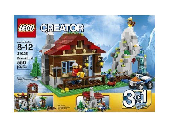 LEGO Creator Mountain Hut (31025) BNISB RETIRED PRODUCT RARE