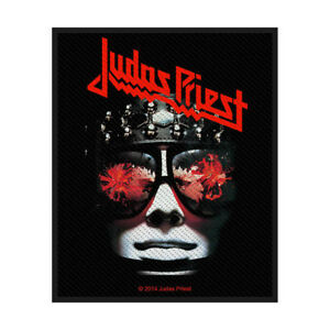 JUDAS-PRIEST-Hell-Bent-For-Leather-Woven-Sew-On-Patch-Official-Licensed-Merch