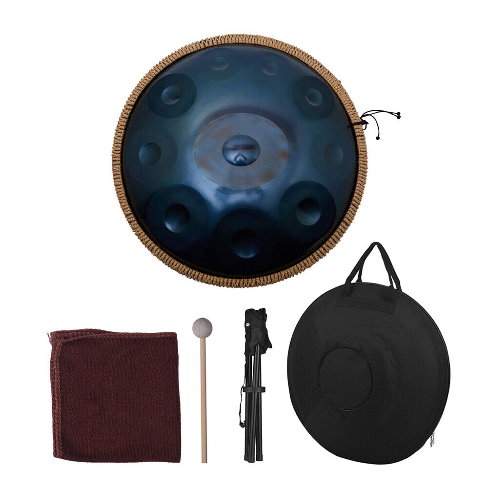 10 Note Hand Pan Hand Trommel Stahl Material Percussion Professional
