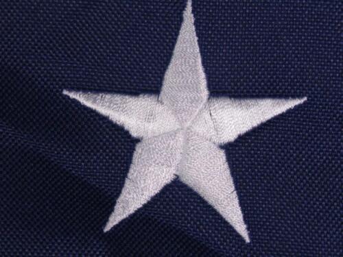 2x3 Embroidered 1st National Stars Bars 7 600D Nylon Flag 2/'x3/'