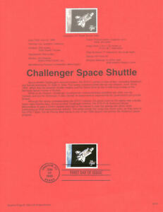9525-3-00-Space-Shuttle-Stamps-2544-USPS-Souvenir-Page