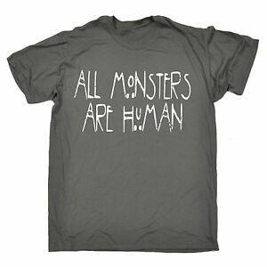 All-Monsters-Are-Human-MENS-T-SHIRT-birthday-gift-present-fashion-nerd-geek-top
