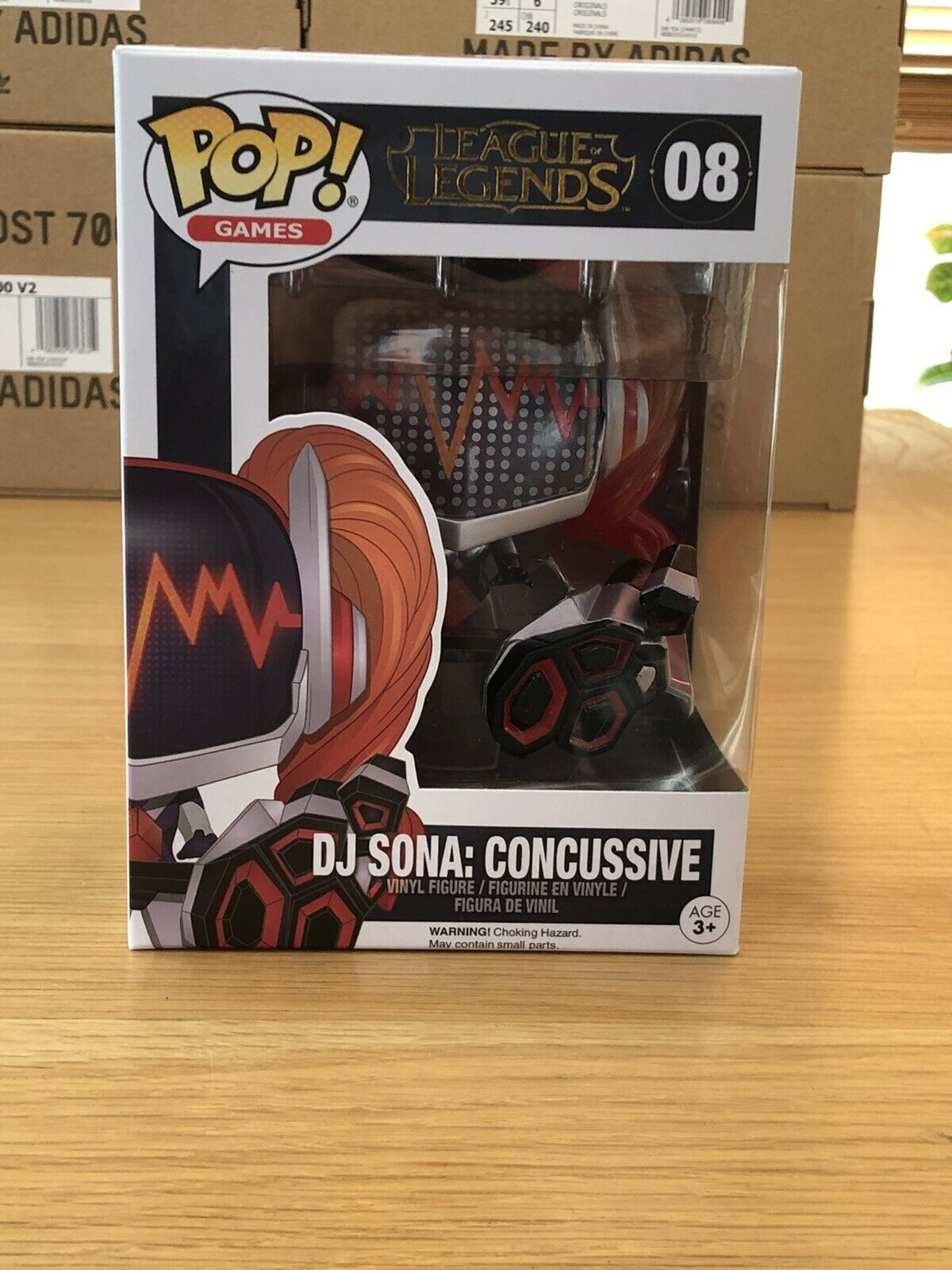 League Of Legends - DJ Sona Concussive FUNKO POP  Vinyl Figure 08