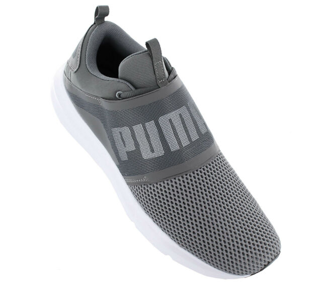 106c395623e21c PUMA ENZO Strap Grey White Men Running Shoes SNEAKERS Trainers ...