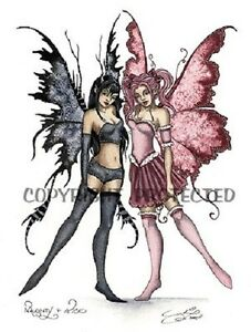 Image Is Loading Amy Brown Print Fairy Faery Naughty Amp And