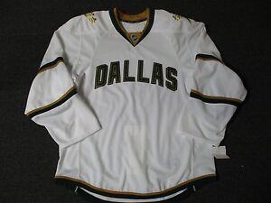 New-Dallas-Stars-Authentic-Team-Issued-Reebok-Edge-2-0-Blank-Hockey-Jersey-NHL