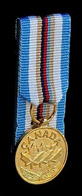 Canada Canadian Somalia Medal  Miniature Court Mounted Medal