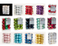 Natale-Decorazione-Albero-24-30mm-Bagattelle-Infrangibile-Colore-a-Scelta