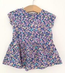 Magnifique Bébé Fille Next Floral Bleu Rose Fleur Imprimer Robe à Poches 3-6 Mois-afficher Le Titre D'origine Acheter Un En Obtenir Un Gratuitement