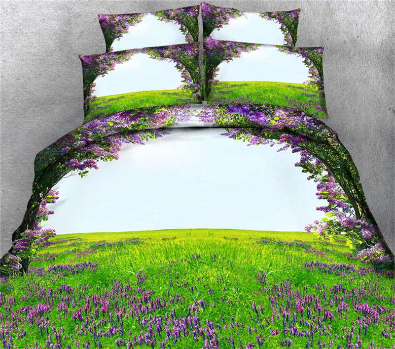 Immense Prairie 3D Printing Duvet Quilt Doona Covers Pillow Case Bedding Sets