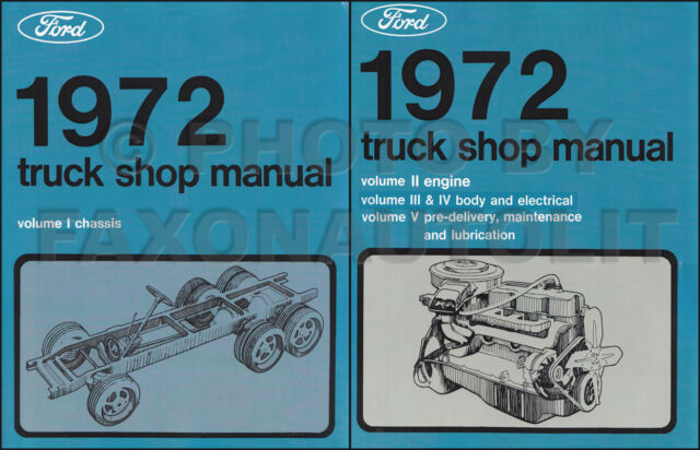 1985 Ford Truck Wiring Diagram All Models Bronco Courier