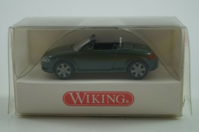 0131 02-1:87 grau mit braunen Sitzen Wiking Audi TT Roadster