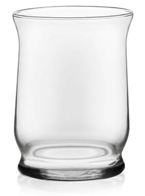 2 Libbey Adorn 6 Piece Glass Hurricane Vase Set 4 4 Inch Ebay