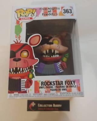Pizza Simulator POP Games Rockstar Foxy Vinyl Figure #363