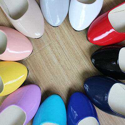 Womens Candy Color Boat Shoes Casual Ballet Slip On Flats Loafers Single Shoes A