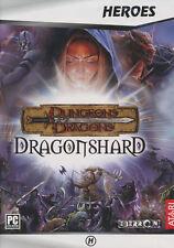 Dungeons & Dragons DRAGONSHARD Atari RPG PC Game NEW!